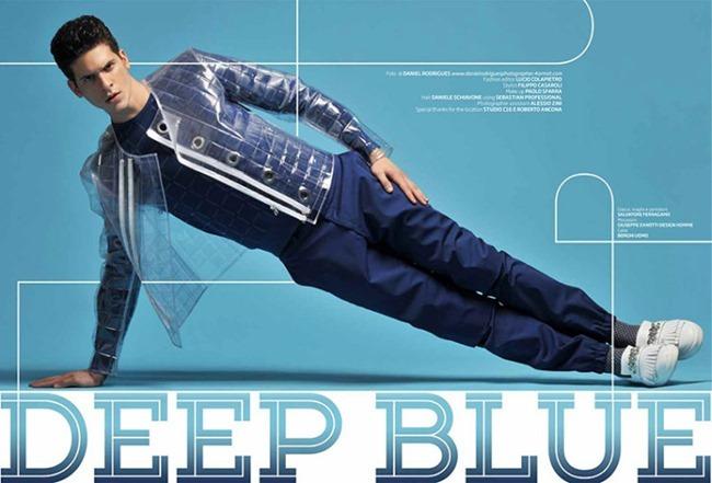 MAXIM ITALIA Diego Fragoso in Deep Blue by Daniel Rodrigues. Filippo Casaroli, April 2014, www.imageamplified.com, Image Amplified (1)