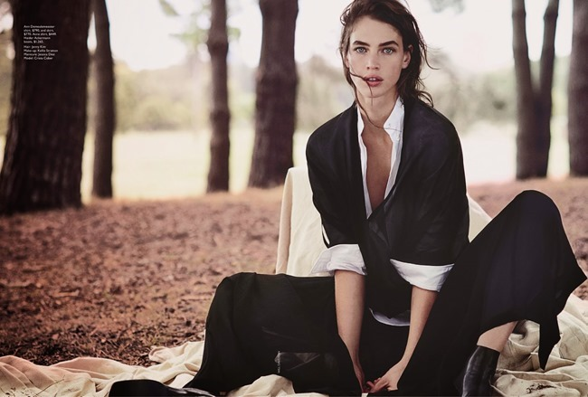 VOGUE AUSTRALIA Crista Cober in Into The Woods by Will Davidson. Christine Centenera, May 2014, www.imageamplified.com, Image Amplified (1)