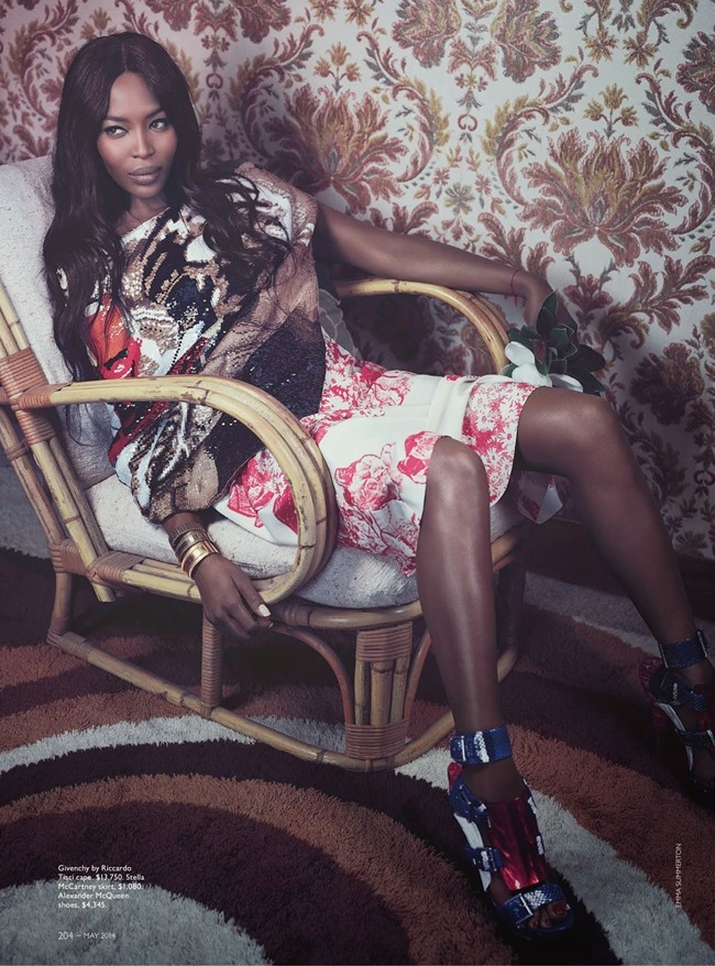 VOGUE AUSTRALIA Naomi Campbell in Sitting Pretty by Emma Summerton. Christine Centenera, May 2014, www.imageamplified.com, Image Amplified (3)