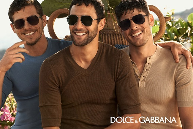 CAMPAIGN Adam Senn, Evandro Soldati & Noah Mills for Dolce & Gabbana Spring 2014 by Domenico Dolce. www.imageamplified.com, Image Amplified (4)