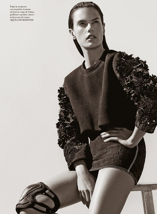 FLARE MAGAZINE Alessandra Ambrosio by Collier Schorr. Sissy Vian, May 2014, www.imageamplified.com, Image amplified (3)