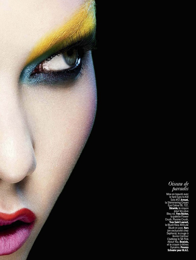 L'EXPRESS STYLES Karlie Kloss in Color Power by Ben Hassett. Mika Mizutani, April 2014, www.imageamplified.com, Image amplified (3)