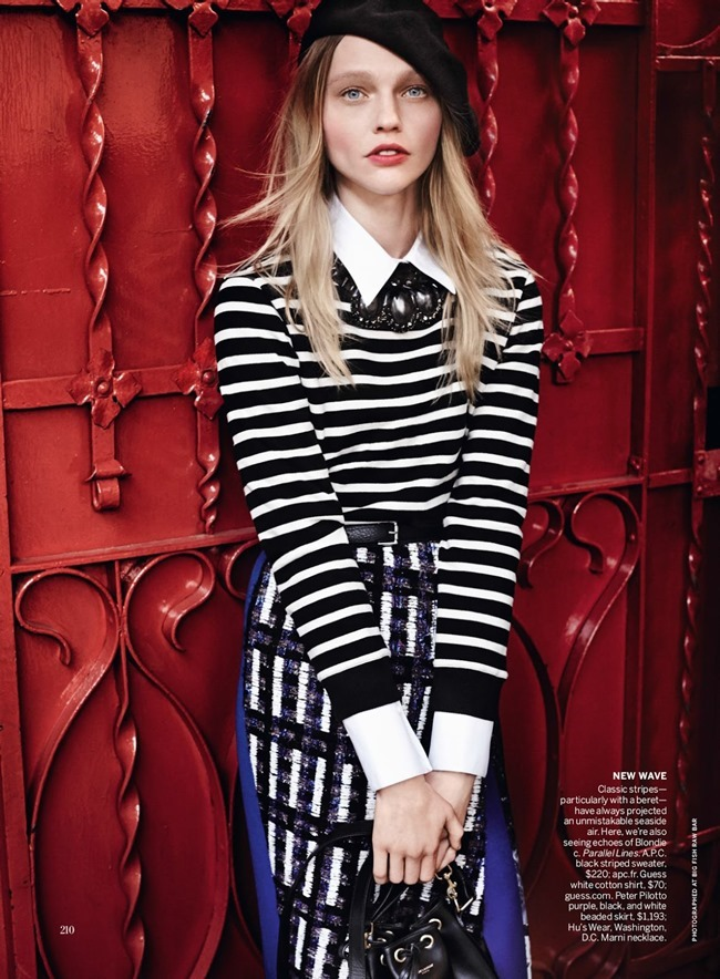 VOGUE MAGAZINE Sasha Pivovarova in Day Tripping by Mario Testino. Tonne Goodman, May 2014, www.imageamplified.com, Image Amplified (11)