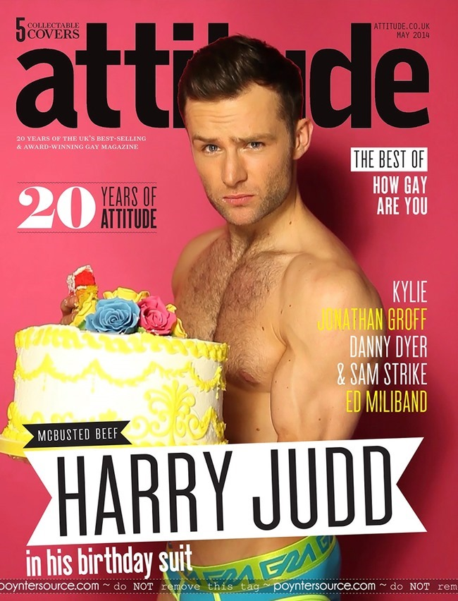 MASCULINE DOSAGE Harry Judd for Attitude Magazine, Spring 2014, www.imageamplified.com, Image Amplified (1)