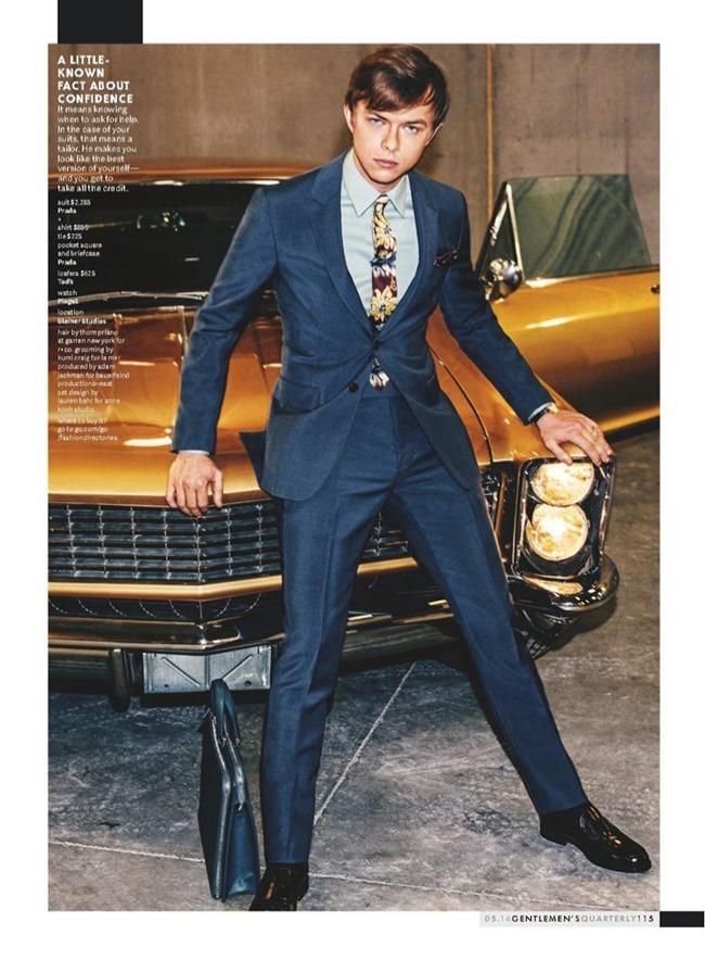 GQ MAGAZINE Dane DeHaan in New Money by Sebastian Kim. May 2014, www.imageamplified.com, Image Amplified (1)