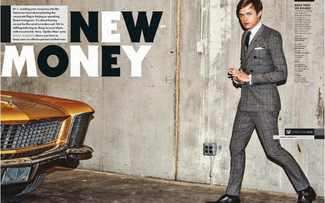 GQ MAGAZINE Dane DeHaan in New Money by Sebastian Kim. May 2014, www.imageamplified.com, Image Amplified (2)