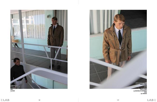 IMAGE AMPLIFIED EXCLUSIVE Kevin Baker, Jamie Hemrick & Ferando Johann in Copacabana by Michael Del Buono. Alexandria Bickerdike, Spring 2014, www.imageamplified.com, Image Amplified (4)