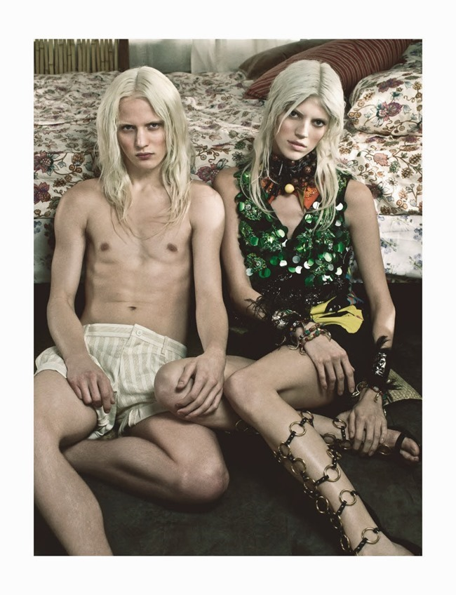NUMERO MAGAZINE Devon Windsor in Tropique Du Cancer by Victor Demarchelier. Charles Varenne, May 2014, www.imageamplified.com, Image Amplified (2)