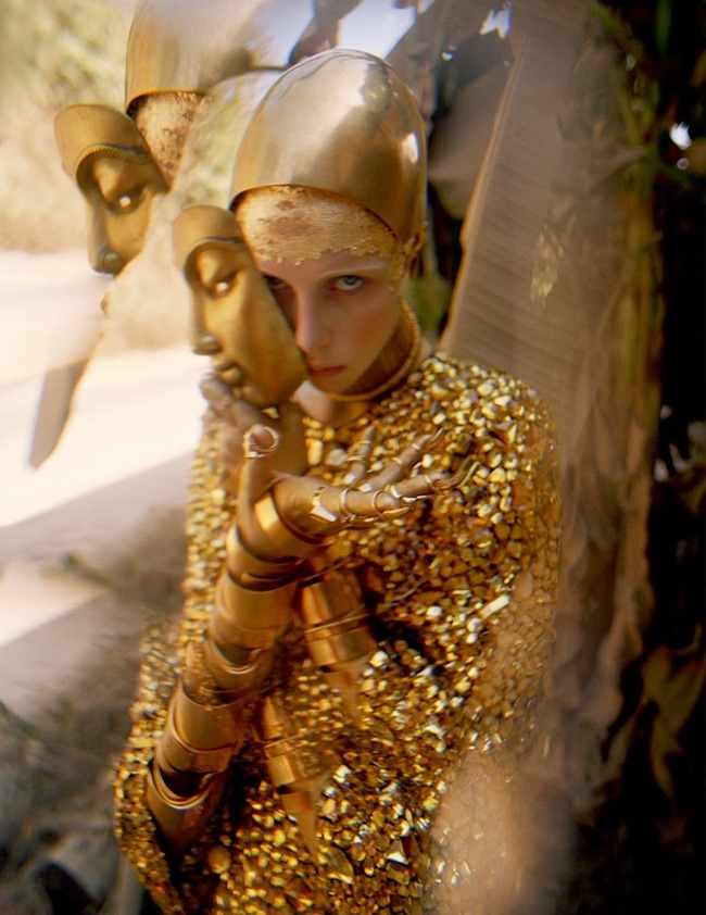 W MAGAZINE Edie Campbell in Gilt Trip by Tim Walker. Jacob K, May 2014, www.imageamplified.com, Image Amplified (18)