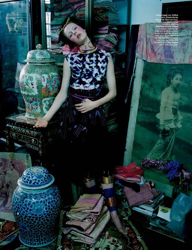W MAGAZINE Edie Campbell in Gilt Trip by Tim Walker. Jacob K, May 2014, www.imageamplified.com, Image Amplified (2)