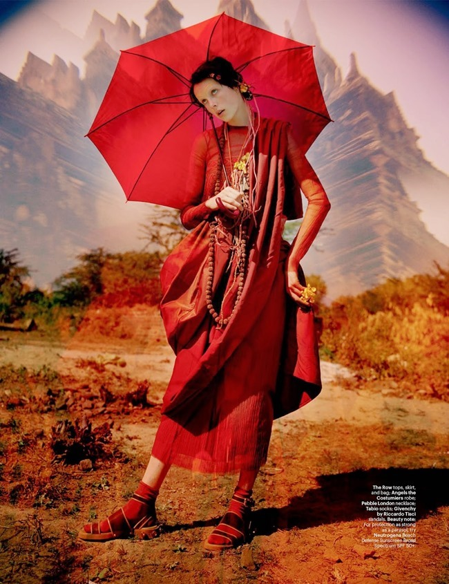 W MAGAZINE Edie Campbell in Gilt Trip by Tim Walker. Jacob K, May 2014, www.imageamplified.com, Image Amplified (6)