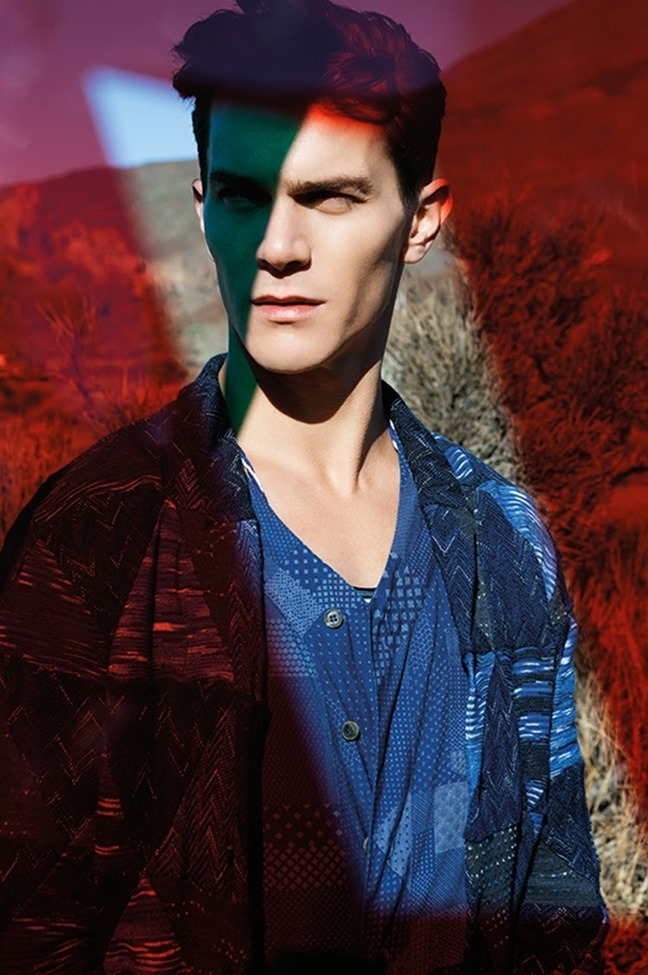 CAMPAIGN Vincent Lacrocq for Missoni Spring 2014 by Viviane Sassen, www.imageamplified.com, Image Amplified (3)