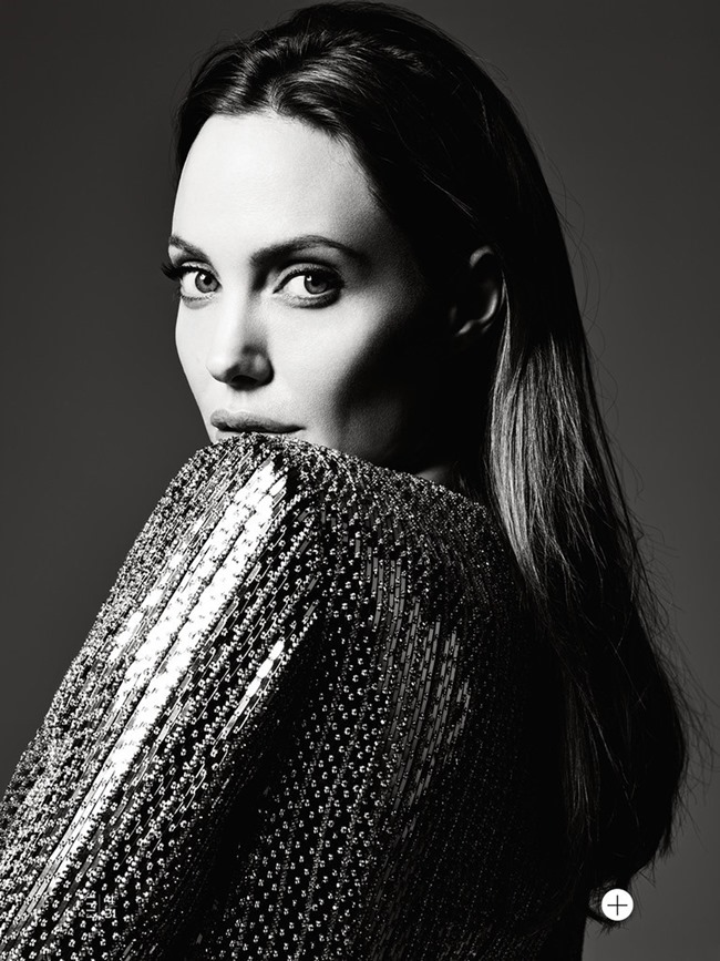 ELLE MAGAZINE Angelina Jolie in Untamed Heart by Hedi Slimane. Joe Zee, June 2014, www.imageamplified.com, Image Amplified (6)
