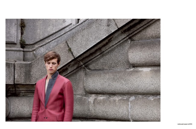 FASHION FOR MEN Antoine Miller in Pastels by Milan Vukmirovic, Spring 2014, www.imageamplified.com, Image Amplified (9)