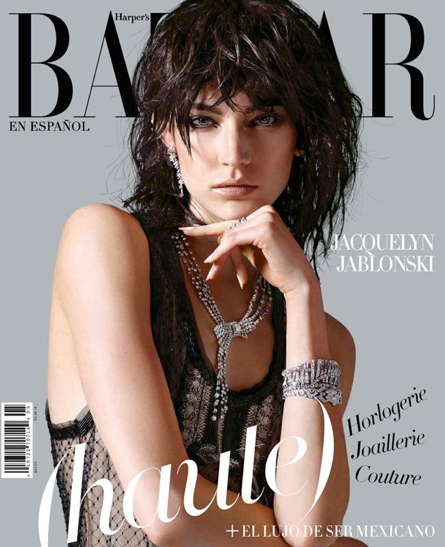 HARPER'S BAZAAR MEXICO Jacquelyn Jablonski in Tough Diamonds by Hunter & Gatti. Christine de Lassus, May 2014, www.imageamplified.com, Image Amplified (1)