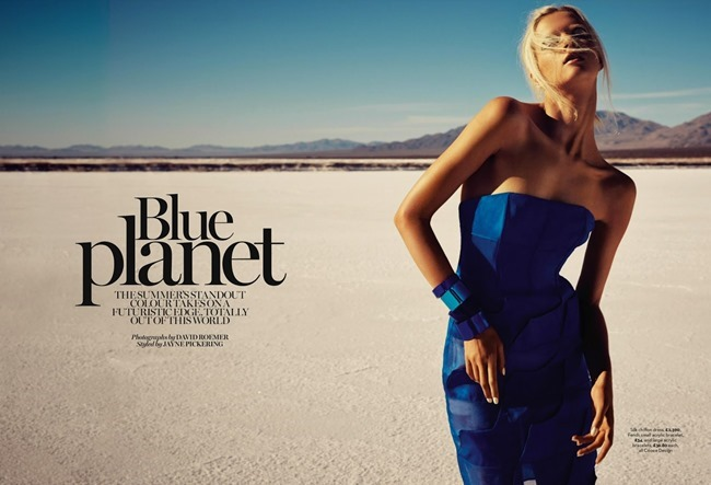 MARIE CLAIRE UK Alyona Subbotina in Blue Planet by David Roemer. Jayne Pickering, June 2014, www.imageamplified.com, Image Amplified (2)