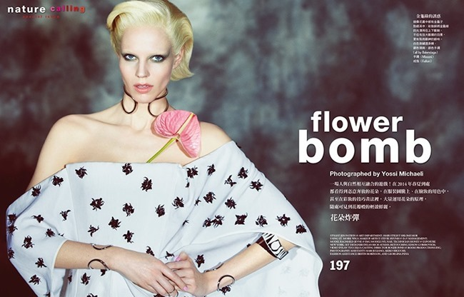 VOGUE TAIWAN Ragnhild Jevne in Flower Bonb by Yossi Michaeli. Jen Patryn, May 2014, www.imageamplified.com, Image Amplified (2)