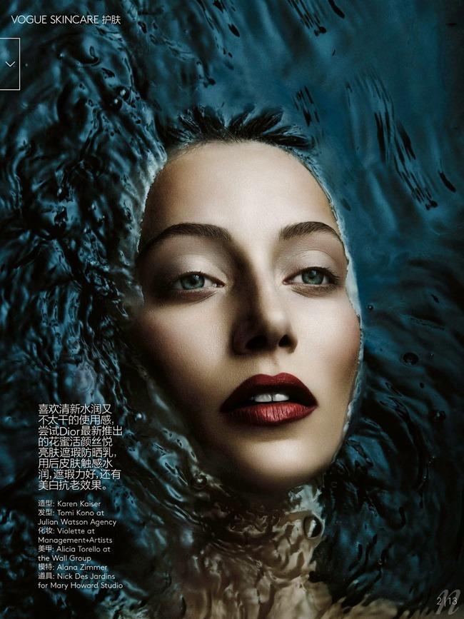 VOGUE CHINA Alana Zimmer in Hidden Guardian by Ben Hassett. Ida Wang, June 2014, www.imageamplified.com, Image amplified (2)