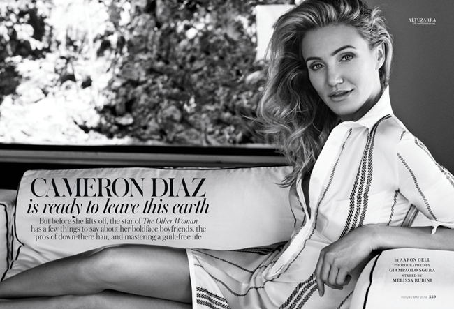 INSTYLE MAGAZINE Cameron Diaz by Giampaolo Sgura. Melissa Rubini, May 2014, www.imageamplified.com, Image amplified (10)