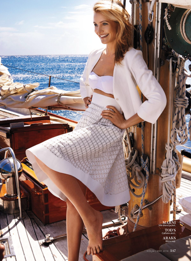 INSTYLE MAGAZINE Cameron Diaz by Giampaolo Sgura. Melissa Rubini, May 2014, www.imageamplified.com, Image amplified (5)