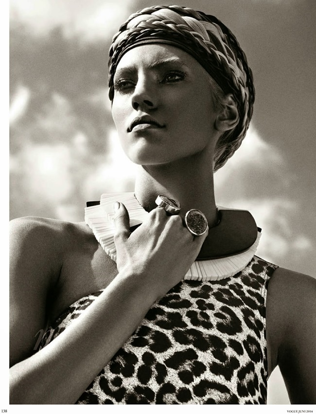 VOGUE GERMANY Devon Windsor in Wild Schon by Giampaolo Sgura. Christiane Arp, June 2014, www.imageamplified.com, Image amplified (2)