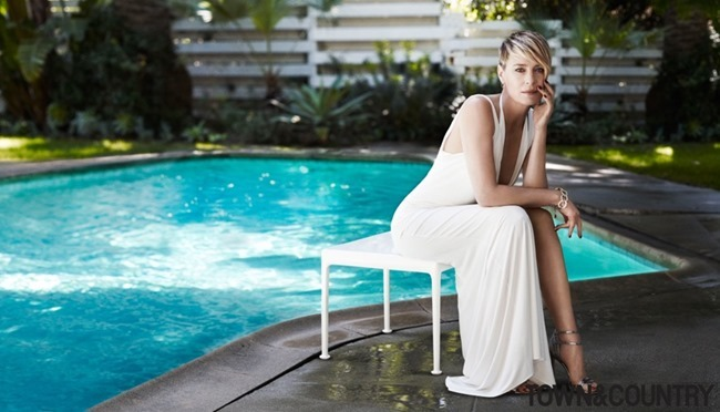TOWN & COUNTRY MAGAZINE Robin Wright by Paul Wetherell. July 2014, www.imageamplified.com, Image Amplified (1)