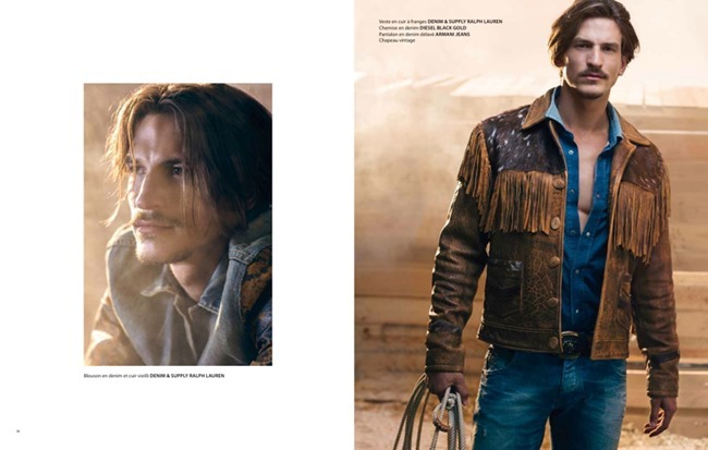 APOLLO MAGAZINE Jarrod Scott in Lonesome Cowboy by Francois Rousseau. Fleur Huynh Evans, Spring 2014, www.imageamplified.com, Image amplified (7)