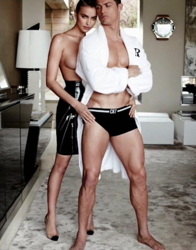 PREVIEW Irina Shayk & Christiano Ronaldo for Vogue Spain, June 2014 by Mario Testino. www.imageamplified.com, Image Amplified (4)