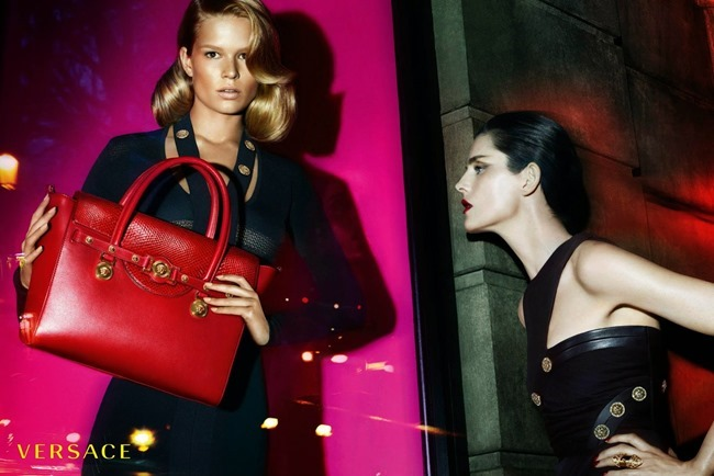 PREVIEW Anna Ewers & Stella Tennant for Versace Fall 2014 by Mert & Marcus. www.imageamplified.com, Image Amplified (3)