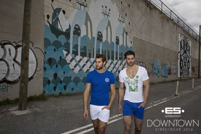 CAMPAIGN Richard Rocco, Brandon Moore, Jared Prudoff-Smith & Franco Noriega for ES Collection Downtown Streetwear Summer 2014 by Rick Day. www.imageamplified.com, Image Amplified (18)