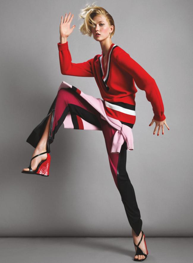 VOGUE MAGAZINE Karlie Kloss in Midnight Run by Inez & Vinoodh. Camilla Nickerson, June 2014, www.imageamplified.com, Image Amplified (2)