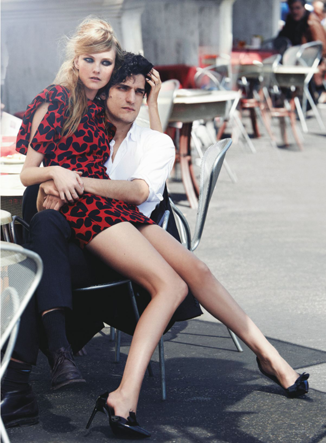 VOGUE MAGAZINE Caroline Trentini & Louis Garrel in Roman Holiday by Peter Lindbergh. Grace Coddington, June 2014, www.imageamplified.com, Image Amplified (6)