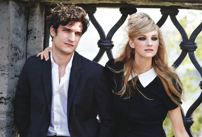 VOGUE MAGAZINE Caroline Trentini & Louis Garrel in Roman Holiday by Peter Lindbergh. Grace Coddington, June 2014, www.imageamplified.com, Image Amplified (1)