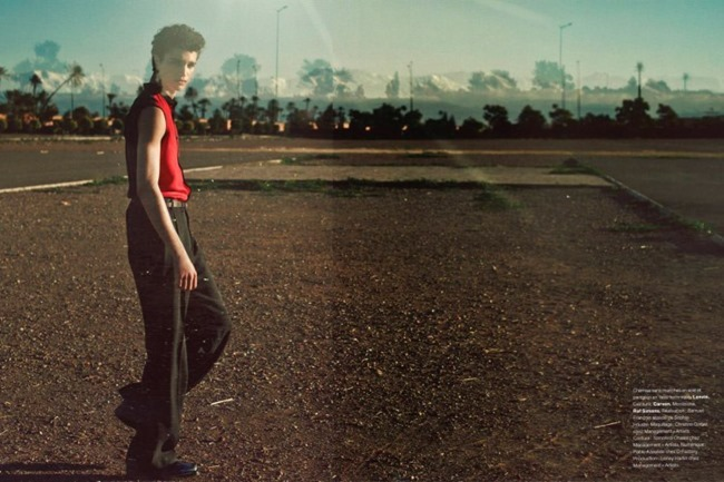 NUMERO HOMME Alexander Ferrario by Serge Leblon. Samuel Francois, Spring 2014, www.imageamplified.com, Image Amplified (10)