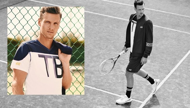 CAMPAIGN Tomas Berdych & H&M New Tennis Collection Summer 2014. www.imageamplified.com, Image Amplified (1)