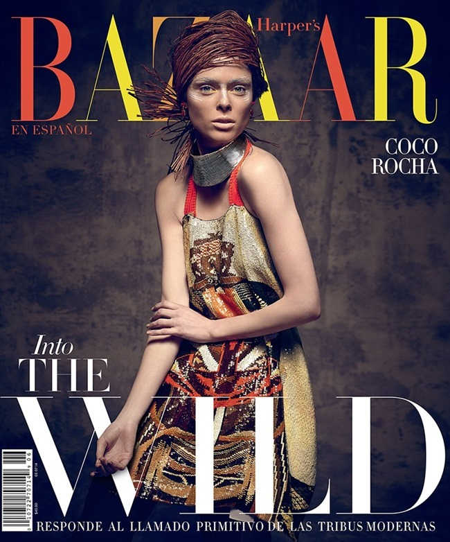HARPER'S BAZAAR MEXICO Coco Rocha by Xevi Muntane. June 2014, www.imageamplified.com, Image Amplified (24)