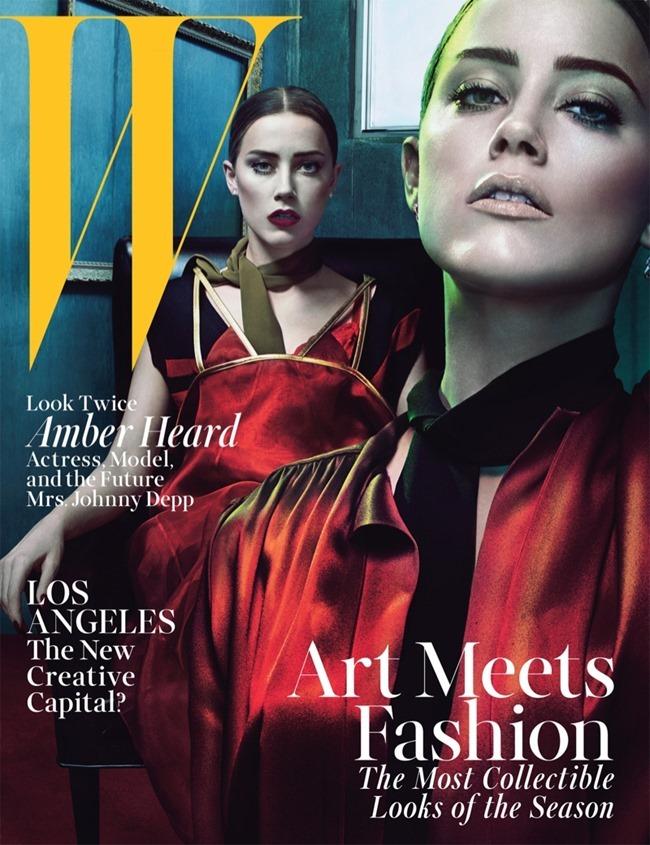 W MAGAZINE Amber Heard by Steven Klein. July 2014, www.imageamplified.com, Image Amplified (4)