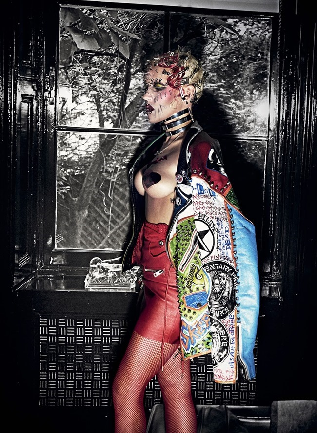 V MAGAZINE Brooke Candy in Candy Land by Steven Klein. Nicola Formichetti, Summer 2014, www.imageamplified.com, Image Amplified (6)