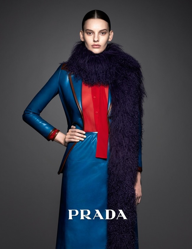 CAMPAIGN Amanda Murphy for Prada Pre-Fall 2014. www.imageamplified.com, Image Amplified (1)