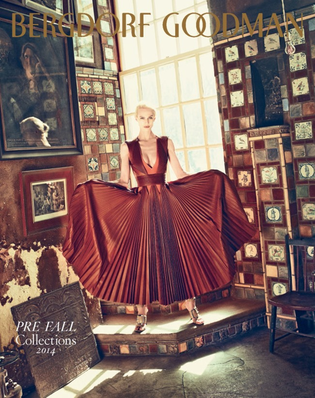 BERGDORF GOODMAN MAGAZINE Aymeline Valade by Arnaud Pyvka. Emma Sanchez, Pre-Fall 2014, www.imageamplified.com, Image Amplified (15)