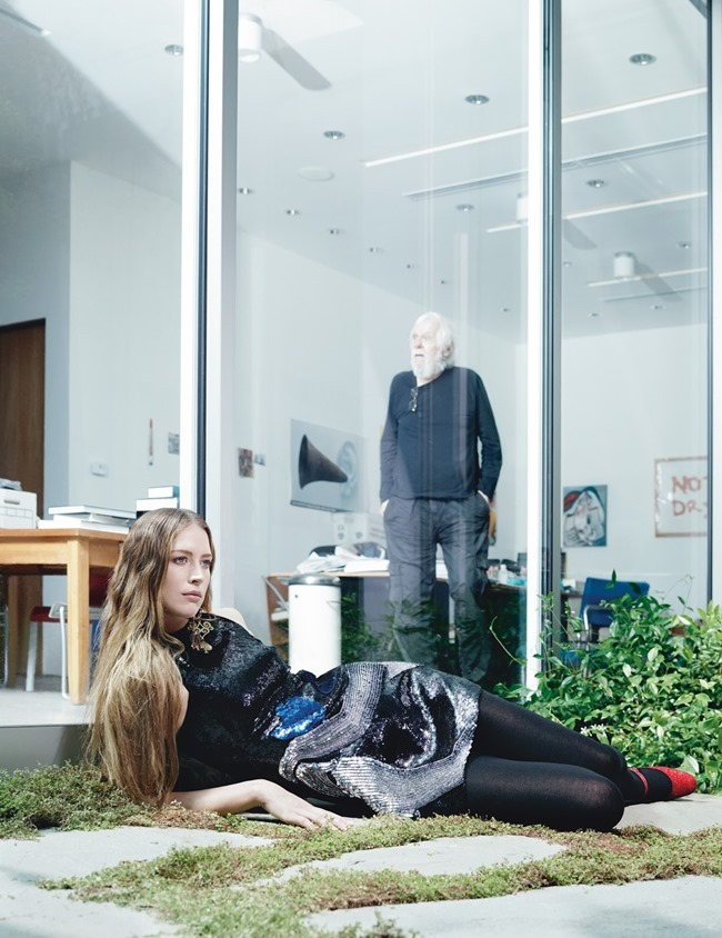W MAGAZINE Raquel Zimmermann in Art Walk by Willy Vanderperre. Edward Enninful, July 2014, www.imageamplified.com, Image Amplified (18)