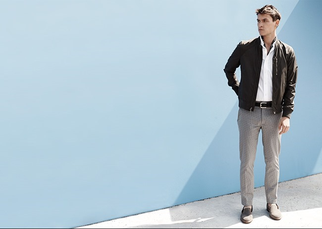 CAMPAIGN Miles Garber in What To Wear for Club Monaco Summer 2014. www.imageamplified.com, Image Amplified (2)