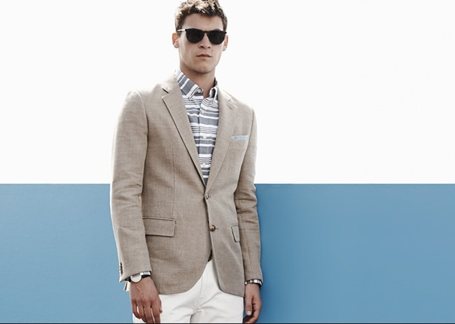 CAMPAIGN Miles Garber in What To Wear for Club Monaco Summer 2014. www.imageamplified.com, Image Amplified (3)