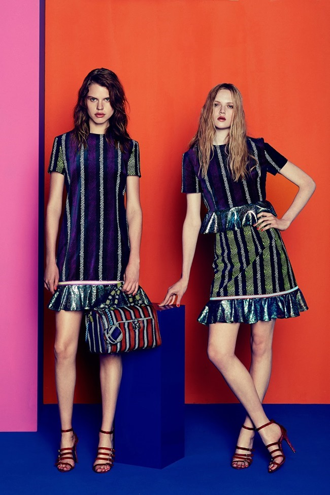COLLECTION Josefin Gustafsson & Holly Rose for House of Holland Resort 2015. www.imageamplified.com, Image amplified (2)
