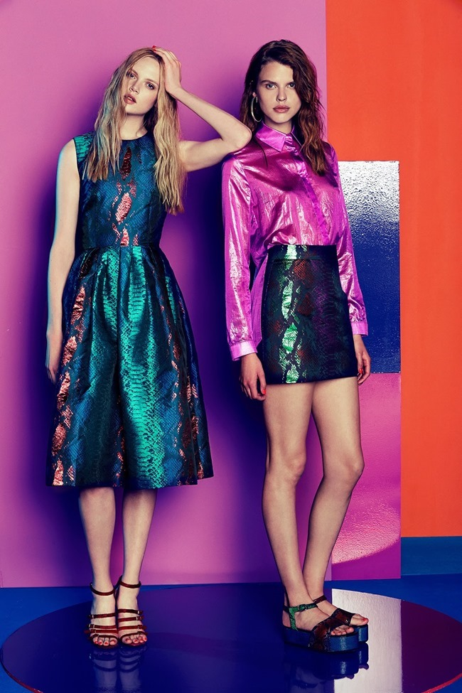 COLLECTION Josefin Gustafsson & Holly Rose for House of Holland Resort 2015. www.imageamplified.com, Image amplified (23)
