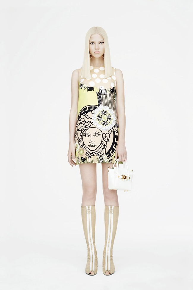COLLECTION Sasha Luss for Versace Resort 2015. www.imageamplified.com, Image Amplified (2)