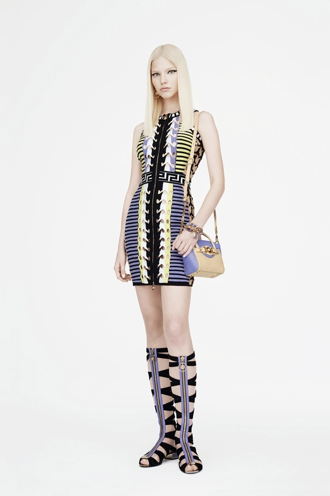 COLLECTION Sasha Luss for Versace Resort 2015. www.imageamplified.com, Image Amplified (25)