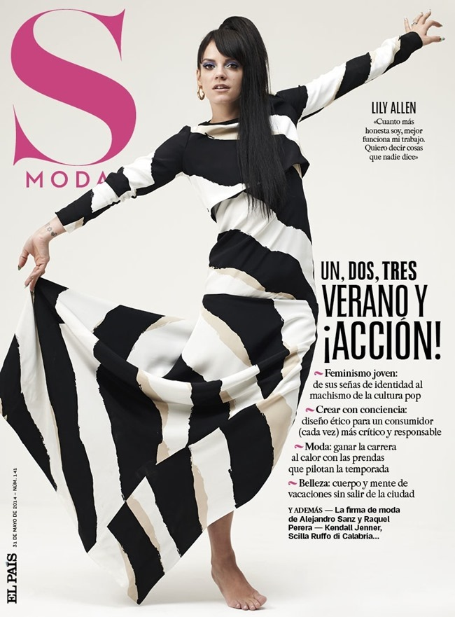 S MODA MAGAZINE Lily Allen by Eric Guillemain. May 2014, www.imageamplified.com, Image Amplified (1)