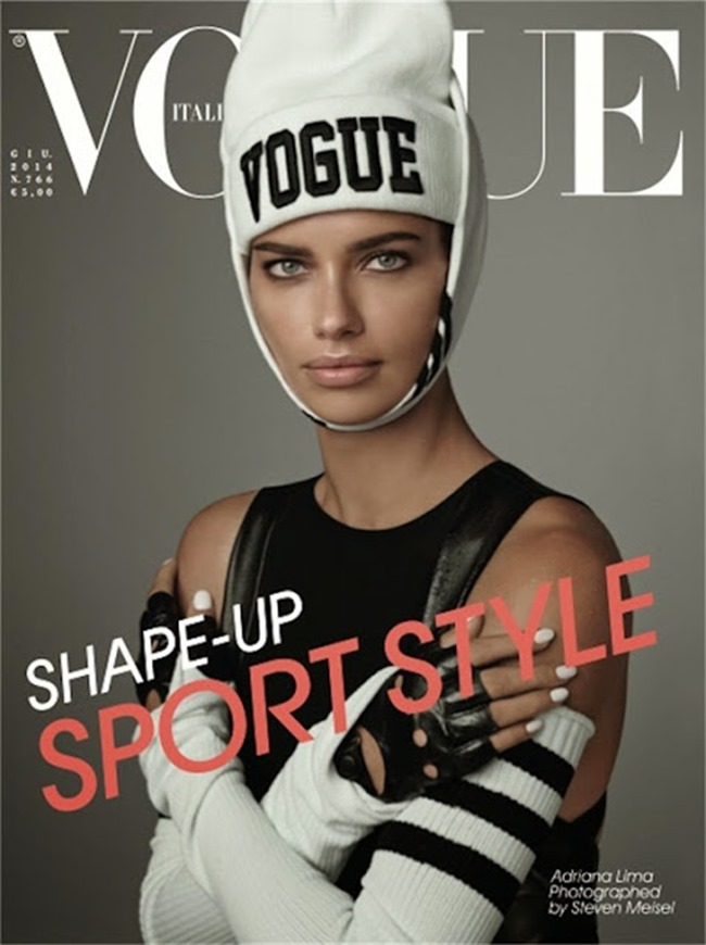 VOGUE ITALIA Adriana Lima in Ridiculously Georgeous by Steven Meisel. Carlyne Cerf De Dudzeele, June 2014, www.imageamplified.com, Image Amplified (1)