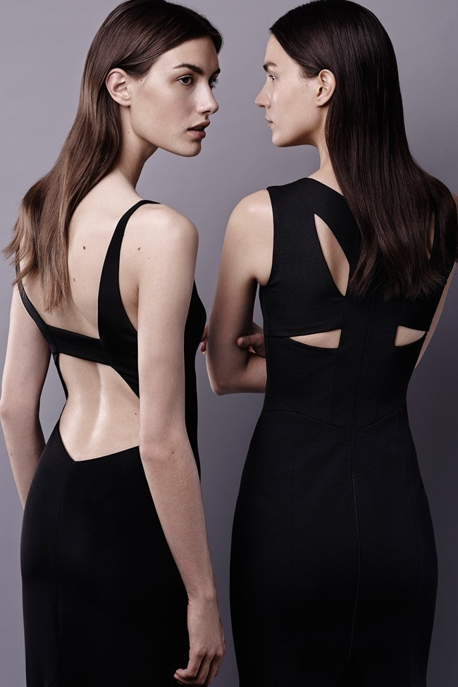 COLLECTION Ronja Furrer & Mijo Mihaljcic for Narciso Rodriguez Resort 2015. www.imageamplified.com, Image Amplified (1)